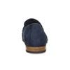 Modré mokasíny z broušené kůže bata, modrá, 813-9600 - 15