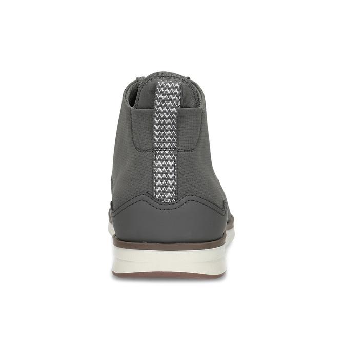 Šedá pánská kotníčková obuv bata-red-label, šedá, 821-2607 - 15