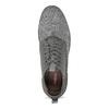 Šedá pánská kotníčková obuv bata-red-label, šedá, 821-2607 - 17