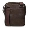 Pánská hnědá Crossbody taška se zipy bata, hnědá, 961-4966 - 16