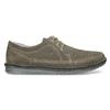 Pánské tenisky z broušené kůže zelené comfit, šedá, 843-8650 - 19