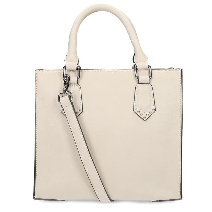 Béžová dámská kabelka s popruhem bata, béžová, 961-8951 - 16