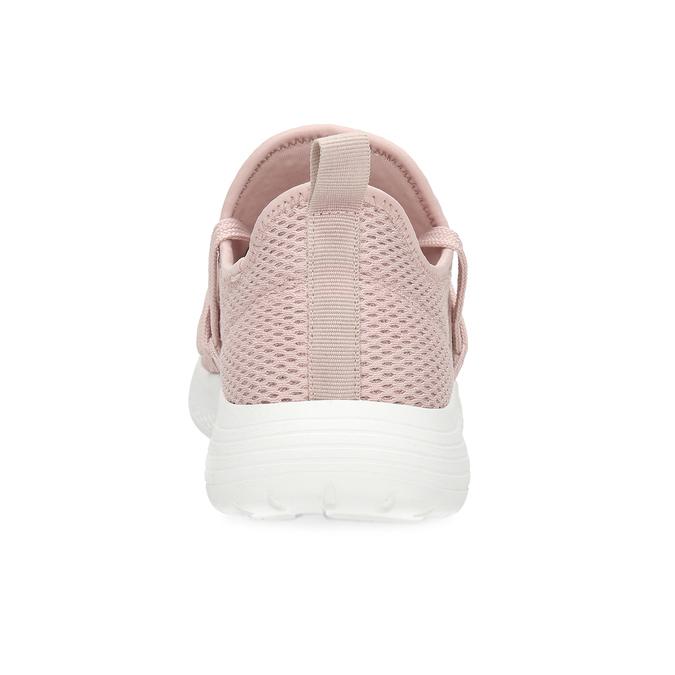 Růžové dámské tenisky na bílé podešvi bata-red-label, růžová, 519-5607 - 15
