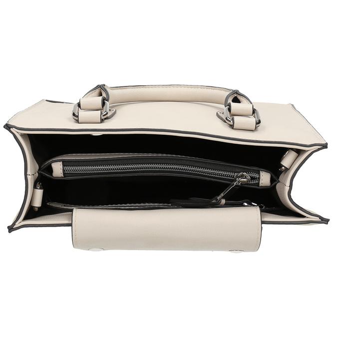 Béžová dámská kabelka s popruhem bata, béžová, 961-8951 - 15