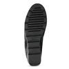 Kožené černé lodičky s výraznou podešví comfit, černá, 624-6618 - 18