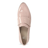 Dámské starorůžové mokasíny lakované bata, růžová, 511-5616 - 17