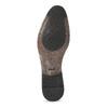 Kožené černé pánské polobotky bata, černá, 824-6881 - 18