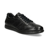 Pánské kožené černé tenisky bata, černá, 824-6686 - 13