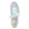 Kožené tenisky s mašlí modré bata, modrá, 543-9600 - 17