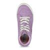 Kožené kotníčkové tenisky fialové richter, fialová, 123-5100 - 17
