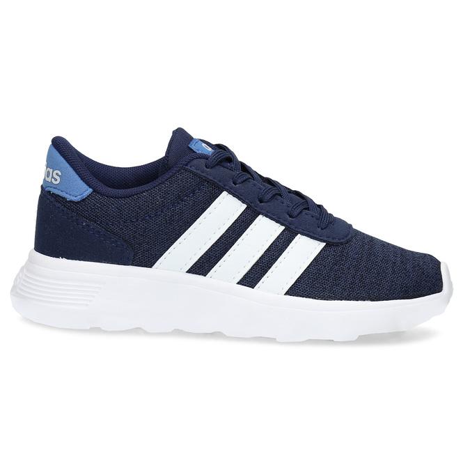Úpletové modré tenisky chlapecké adidas, modrá, 309-9209 - 19