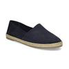 Tmavě modré kožené Espadrilky bata, modrá, 533-9602 - 13
