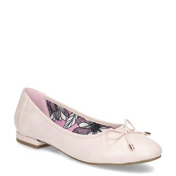 Růžové dámské baleríny bata, růžová, 521-8650 - 13