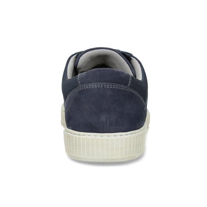 Kožené tmavě modré tenisky bata, modrá, 846-9600 - 15