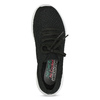 Černé dámské tenisky v pleteném stylu skechers, černá, 509-6105 - 17