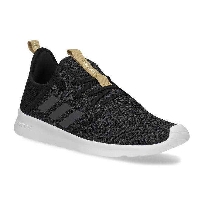 Černé dámské tenisky s hnědým detailem adidas, černá, 509-6469 - 13