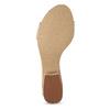Tělové dámské sandály na nízkém podpatku insolia, růžová, 661-8620 - 18