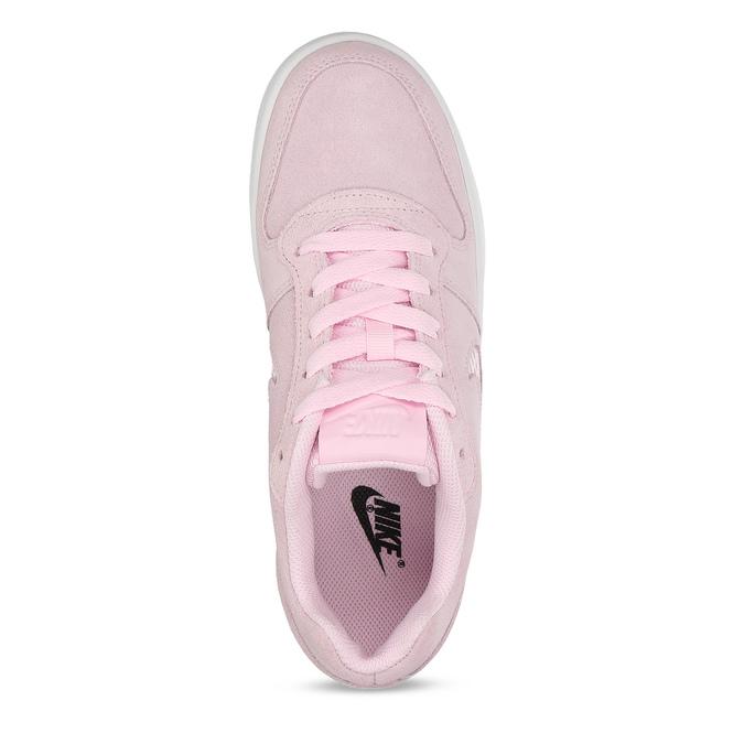 Dámské kožené růžové tenisky nike, růžová, 503-5126 - 17