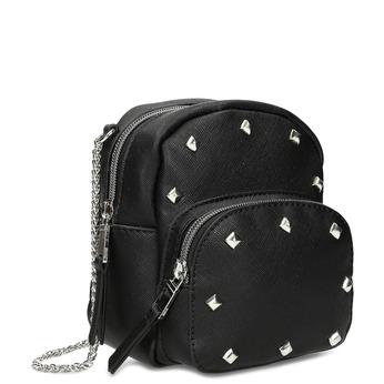 Černá Crossbody kabelka s řetízkem a se cvoky bata, černá, 961-6965 - 13