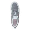 Dívčí šedé tenisky s náznakem perforace nike, šedá, 401-2419 - 17