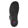Hnědé sandály pánské fluchos, černá, 864-6635 - 18