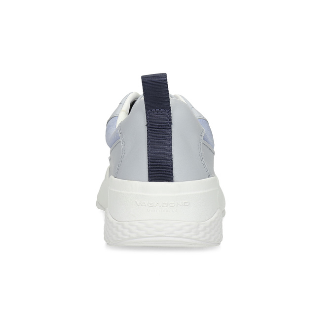 Modré kožené dámské tenisky vagabond, modrá, 546-9059 - 15