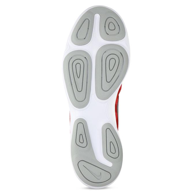 Červené pánské tenisky s bílou podešví nike, červená, 809-5100 - 18
