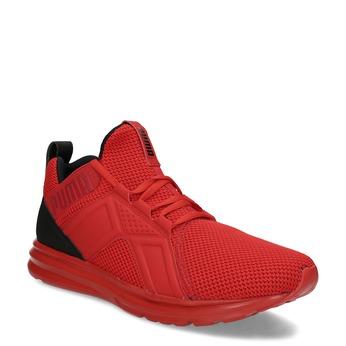 Červené pánské kotníčkové tenisky puma, červená, 809-5207 - 13