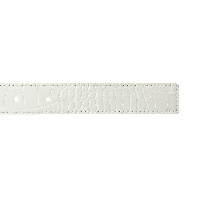Bílý dámský pásek bata, bílá, 951-1702 - 16