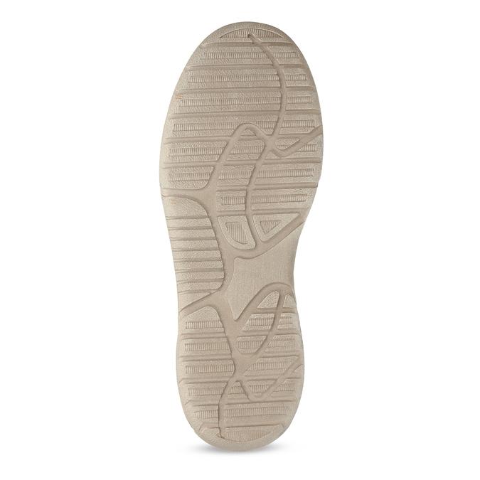 Pánské slip-on boty s perforací weinbrenner, modrá, 836-9687 - 18