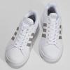Bílé dámské ležérní tenisky adidas, bílá, 501-1249 - 16