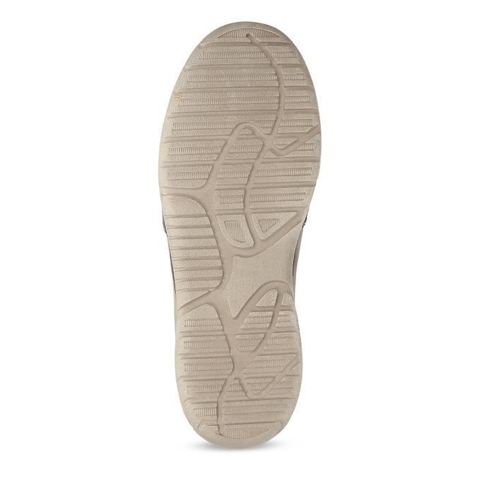 Béžové pánské slip-on boty weinbrenner, béžová, 836-8687 - 18