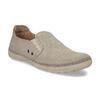 Béžové pánské slip-on boty weinbrenner, béžová, 836-8687 - 13