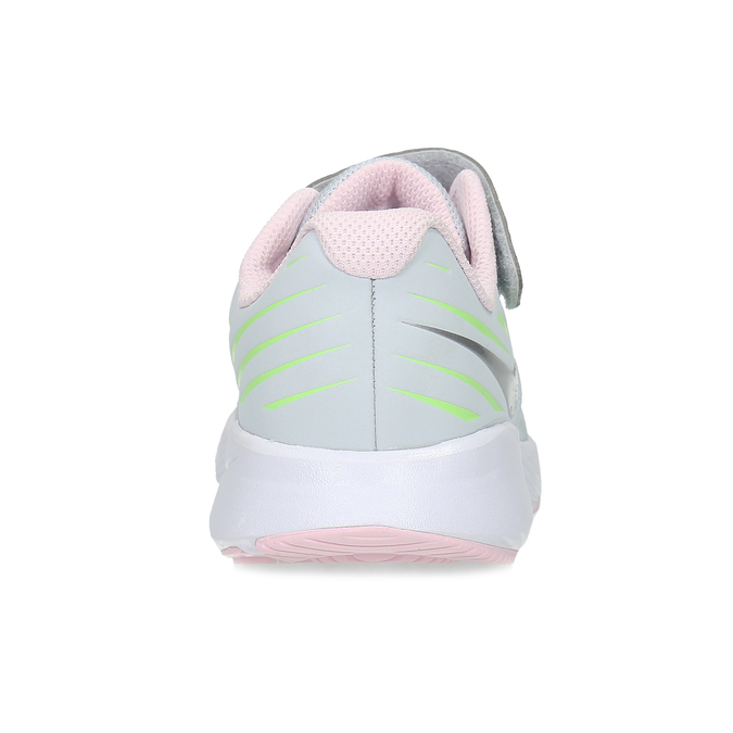 Šedo-růžové sportovní tenisky nike, šedá, 309-1211 - 15