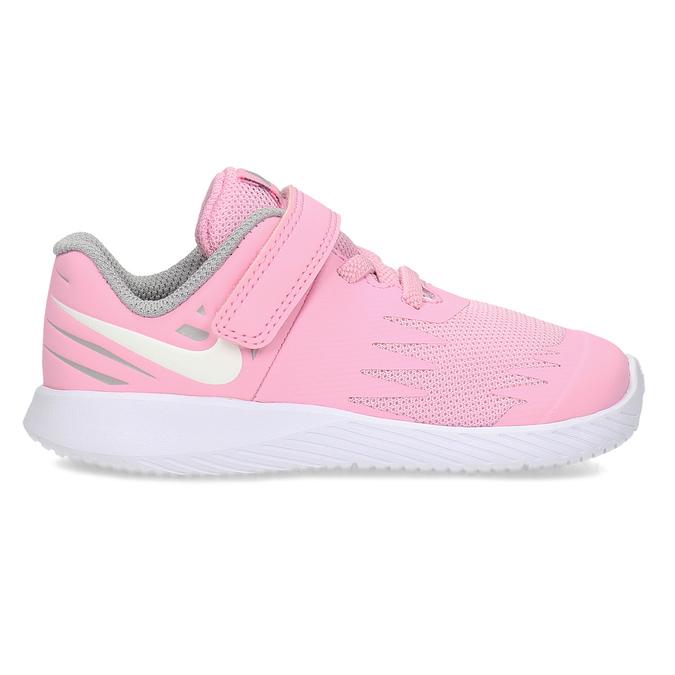 Světle růžové sportovní dětské tenisky nike, růžová, 109-5259 - 19