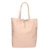 Růžová kožená kabelka bata, růžová, 964-5162 - 26