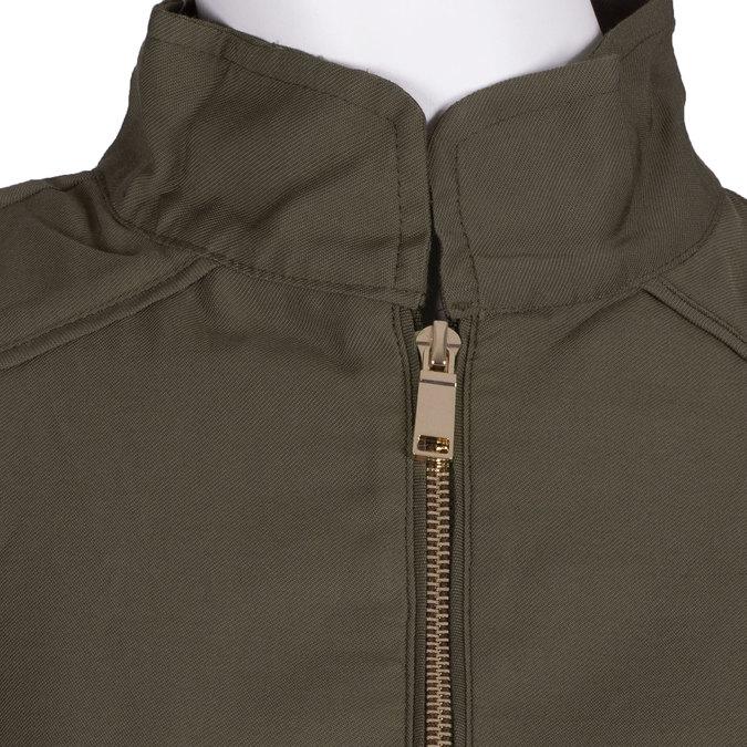 Dámská textilní parka bata, zelená, 979-7109 - 16