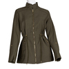 Dámská textilní parka bata, zelená, 979-7109 - 13