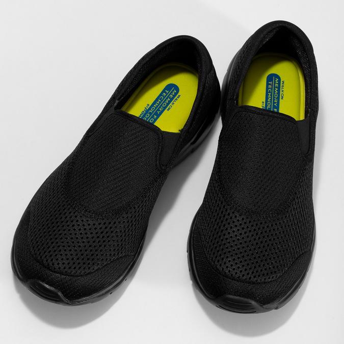Černé sportovní Slip-on power, černá, 809-6318 - 16