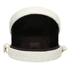 Bílá pletená Crossbody kabelka bata, bílá, 969-1786 - 15