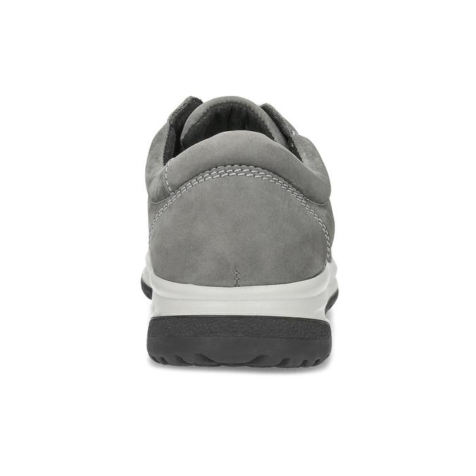 Dámské kožené šedé tenisky comfit, šedá, 546-2600 - 15