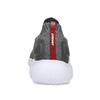 Pánské šedé kotníčkové tenisky z úpletu power, šedá, 809-2235 - 15