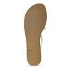 Bílé dámské kožené sandály vagabond, bílá, 564-1028 - 18