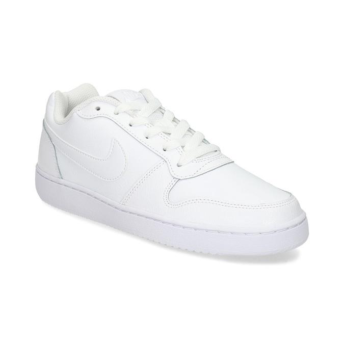 Bílé pánské ležérní tenisky s prošitím nike, bílá, 801-1124 - 13