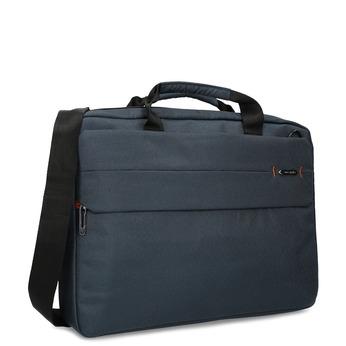 Modrá taška na pracovní cesty samsonite, modrá, 960-9068 - 13