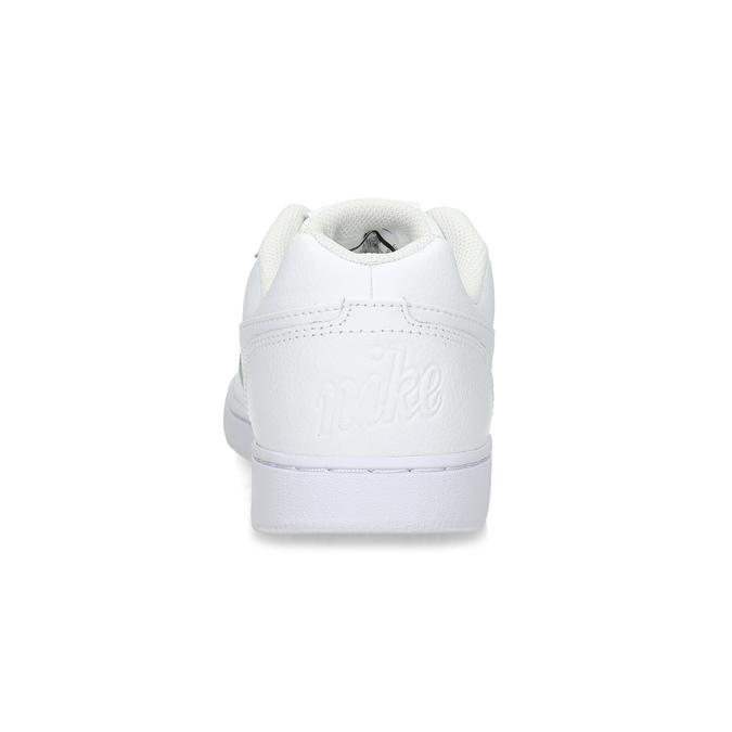 Bílé pánské ležérní tenisky s prošitím nike, bílá, 801-1124 - 15