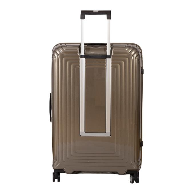 Kvalitní zlatý skořepinový kufr samsonite, zlatá, 960-8024 - 26