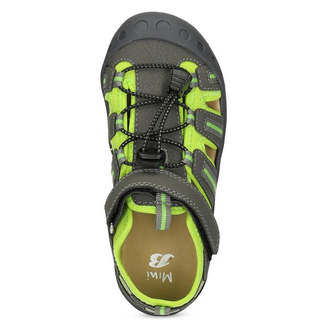 Sandály v outdoorovém stylu mini-b, šedá, 461-2616 - 17