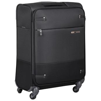 Černý kvalitní textilní kufr samsonite, černá, 960-6037 - 13