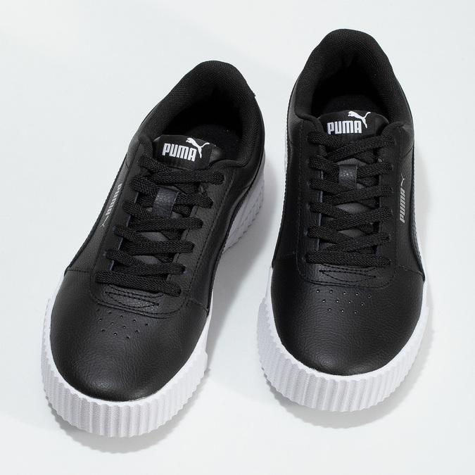 Černé tenisky na flatformě puma, černá, 501-6188 - 16